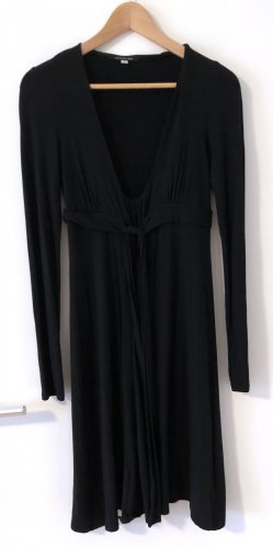 Patrizia Pepe Empire Dress black viscose