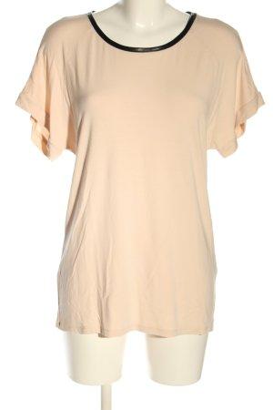 Patrizia Pepe T-Shirt creme-schwarz Casual-Look