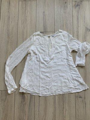 Patrizia Pepe – weiße Bluse – EUR M