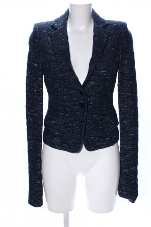 Patrizia Pepe Wool Blazer black flecked business style