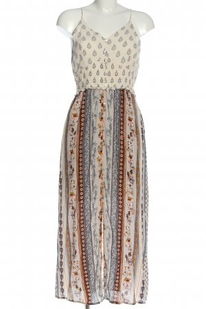 Patrons of Peace Maxi Dress allover print casual look