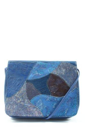 Patterson Mini sac bleu motif animal style décontracté