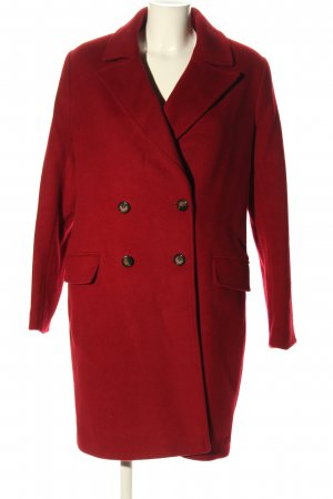 Paul Costelloe Wollmantel rot Casual-Look