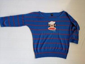 Paul frank T-shirts en mailles tricotées rouge-bleu