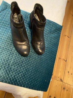 Paul Green Korte laarzen zwart