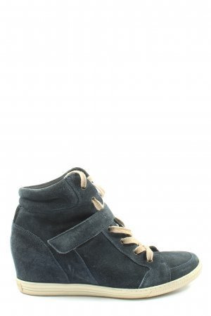 Paul Green Absatz Sneaker blau Casual-Look