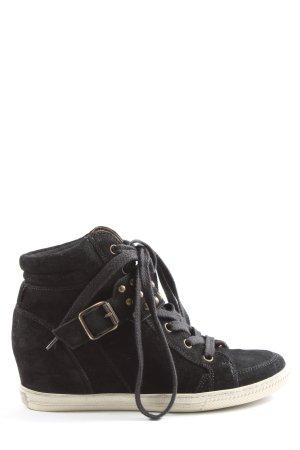Paul Green Absatz Sneaker schwarz Casual-Look