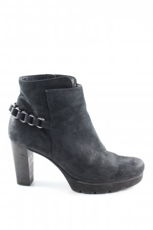 Paul Green Ankle Boots schwarz Business-Look