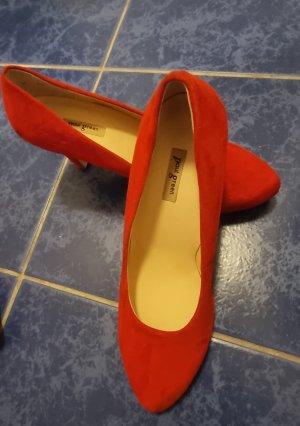 Paul Green High Heels red