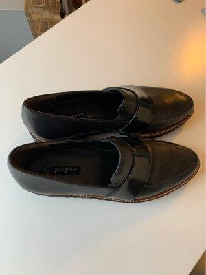 Paul Green Wingtip Shoes black