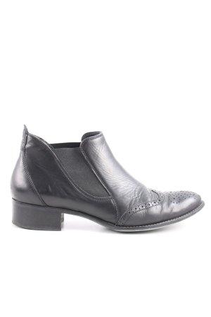 Paul Green Zapatos Budapest negro estilo «business»