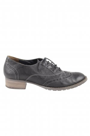 Paul Green Zapatos Budapest negro-marrón look casual