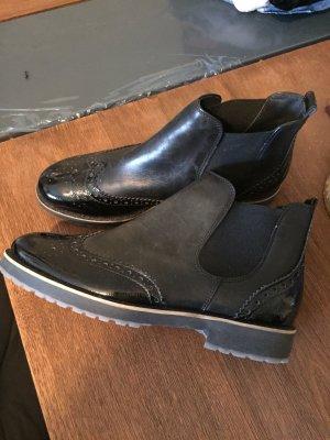 Paul Green Chelsea Boots schwarz