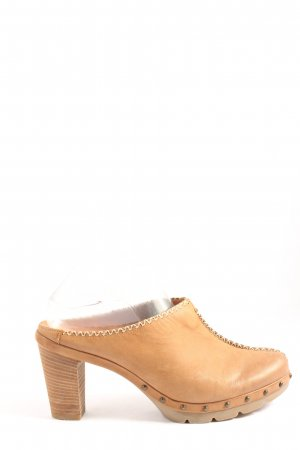 Paul Green Clog Sandals nude casual look