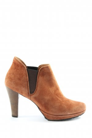 Paul Green Cut Out Booties brown casual look