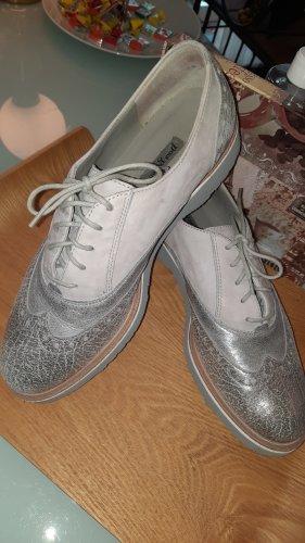 Paul Green Pantoffels zilver-grijs