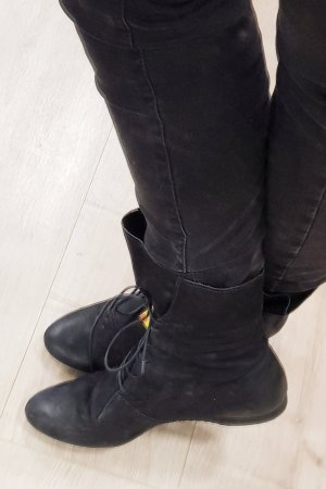Paul Green Lace-up Booties black