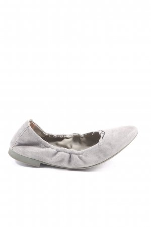 Paul Green Foldable Ballet Flats light grey casual look