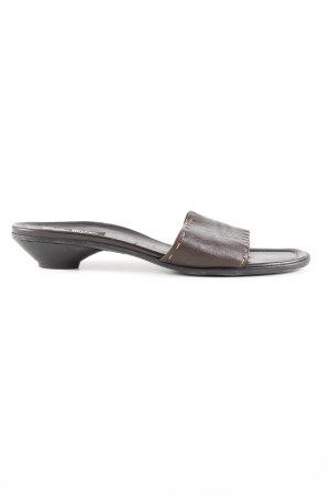 Paul Green Flip Flop Sandalen braun Casual Look