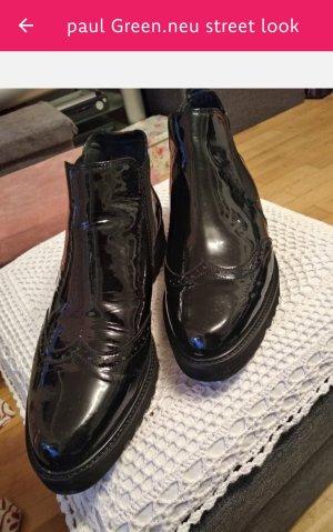 Paul Green Slip-on laarzen zwart