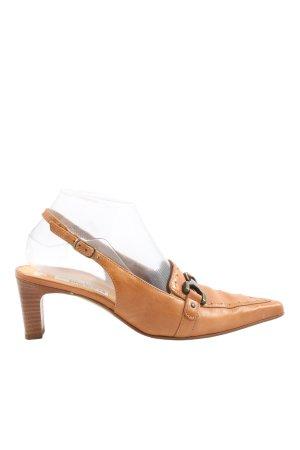 Paul Green High Heel Sandaletten hellorange Casual-Look