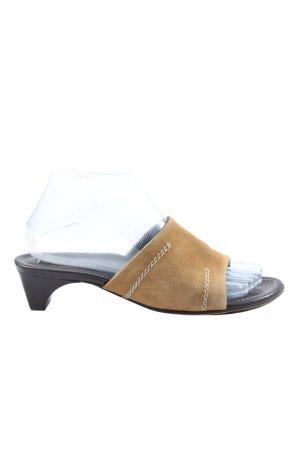 Paul Green High Heel Sandaletten braun Casual-Look