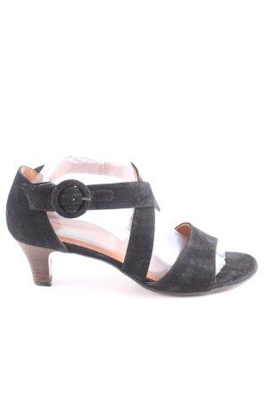 Paul Green High Heel Sandaletten schwarz Business-Look