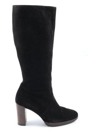 Paul Green High Heel Stiefel schwarz Casual-Look