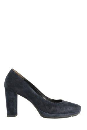 Paul Green High Heels blau Business-Look