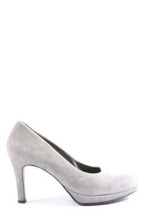 Paul Green High Heels hellgrau Casual-Look