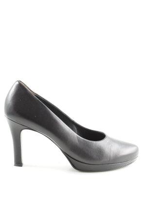 Paul Green High Heels schwarz Business-Look