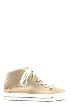 Paul Green High Top Sneaker creme Casual-Look