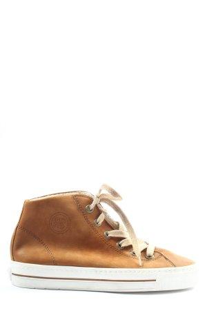 Paul Green Zapatillas altas marrón look casual
