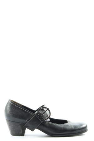 Paul Green High-Front Pumps black casual look
