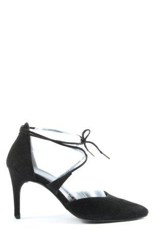 Paul Green Spitz-Pumps schwarz Elegant
