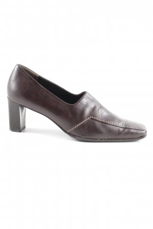 Paul Green Hochfront-Pumps braun-dunkelbraun Elegant