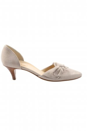 Paul Green High-Front Pumps light grey casual look