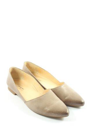 Paul Green Classic Ballet Flats brown elegant