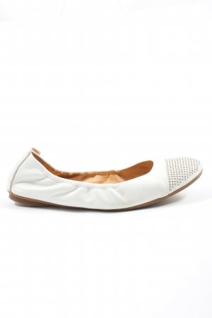 Paul Green Foldable Ballet Flats white casual look