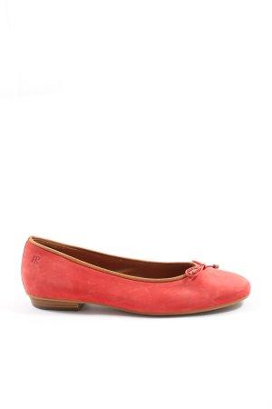 Paul Green Klassische Ballerinas rot Casual-Look