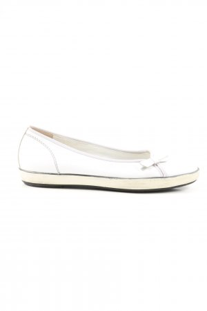 Paul Green Classic Ballet Flats white-natural white casual look