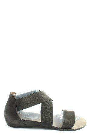 Paul Green Sandalias cómodas negro look casual