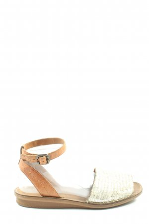 Paul Green Komfort-Sandalen braun-wollweiß Casual-Look