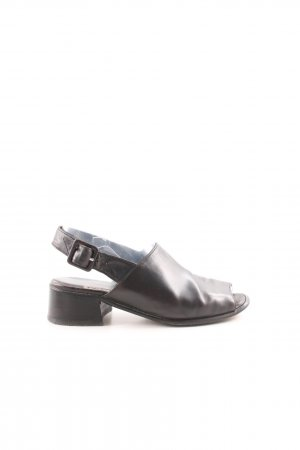 Paul Green Komfort-Sandalen schwarz Casual-Look