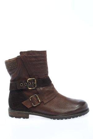 Paul Green Korte laarzen bruin casual uitstraling