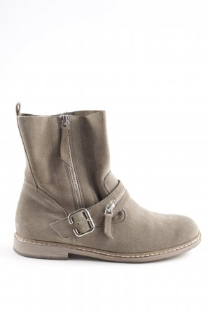 Paul Green Botas bajas blanco puro look casual