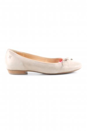 Paul Green Patent Leather Ballerinas natural white casual look