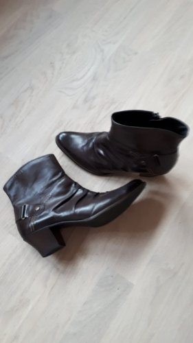 Paul Green Leder Ankle Boots