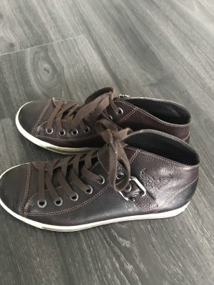 Paul Green Zapatillas con velcro marrón oscuro