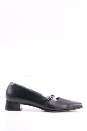 Paul Green Mary Jane Ballerinas schwarz Business-Look
